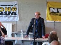 Moderator Wilfried Haesen en Ben Weyts (2)