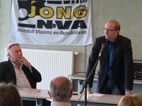Moderator Wilfried Haesen en Ben Weyts (6)