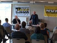 Moderator Wilfried Haesen en Ben Weyts (3)