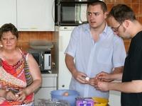 Keukenpersoneel eetfestijn