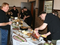 Bedieningspersoneel eetfestijn