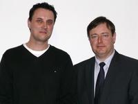 Gemeenteraadslid Sven De Paepe met Bart De Wever